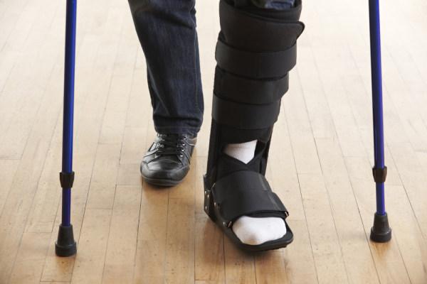 ขาหัก